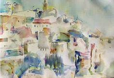 Visual Poem: Gordes, Provence, Wayne Roberts