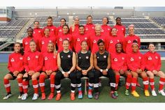 Meet the Canadian squad playing at the 2015 Women's World Cup Us Soccer, Soccer Players, Soccer Ball, Football Team, Soccer Teams, Sophie Schmidt, Ashley Lawrence, Canada Soccer, Captain Fantastic