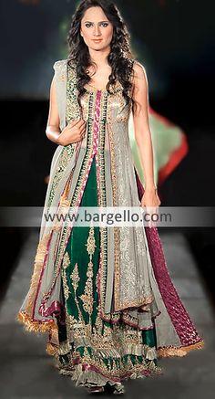 D3529 Designer Pakistani Bridal Wear, Pakistani Designers Bridal Dresses, Pakistani Fashion Boutique Bridal Wear