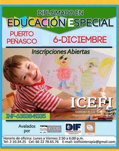 Diciembre. Puerto Peñasco. Diplomado en Educación Especial. ICEFI.