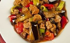 25 Exquisite Juicy Food That Goes Well With Rice, # Very .-Pilavın Yanına Çok İyi Giden 25 Enfes Sulu Yemek, … 25 Exquisite Juicy Food That Goes Well with Rice, # The Rice - Eggplant Dishes, Eggplant Recipes, Turkish Recipes, Asian Recipes, Ethnic Recipes, Photo Restaurant, Baby Food Recipes, Healthy Recipes, Coban