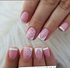 French Manicure Nail Designs, Nail Art Designs, Acrylic Nail Tips, Nail Envy, Toe Nails, Hair Beauty, Nail Ring, Pretty Nails, Long Nail Art