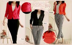 blazer twins bahan wedges super fit to L good quality @65rb