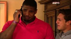 Michael Sam Reacts to Being Drafted by Rams