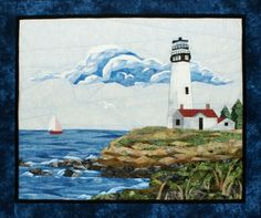 Lighthouse Pieced Quilt Pattern