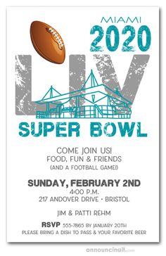 Logo LV Super Bowl Miami 2020 Super bowl, Super bowl