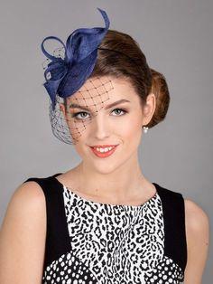 Navy blue fascinator. Blue wedding hat. New design 2021. Wedding Fascinators, Wedding Hats, Blue Wedding, Navy Blue Fascinator, Fascinator Hats, Black Headband, Dark Navy Blue, Fabric Samples, News Design