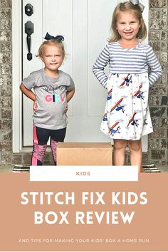 This Stitch Fix kids box review shares everything we received, how much we paid, if our kids liked the items, and much more. If you've never ordered from Stitch Fix kids before, read this first because I share tips on sizing, how it differs from adult boxes, and more. Full article on WhimsicalSeptember.com. Stitch Fix Kids, Pregnancy First Trimester, Stitch Fix Outfits, Spring Fashion Outfits, Family Affair, Kids Boxing, Good Parenting, Getting Pregnant, Our Kids