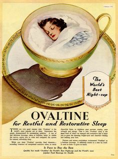 """for restful and restorative sleep"""