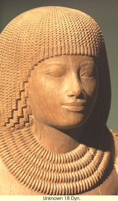 The People of ancient Egypt: Sculpture 18th Dynasty