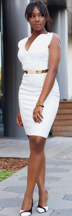 SUNKISSED AND DRESSED IN WHITE  // Summer outfit idea by Rachelle Sibanda