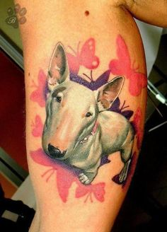 Omg this is the most amazing tattoo hunting tattoo for Funny dog tattoos
