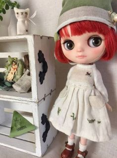 *Blythe outfit (middie)*パペット・洋服set ♪*_画像1