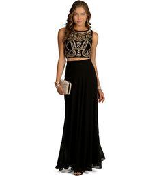 Kendall- Black Prom Dress