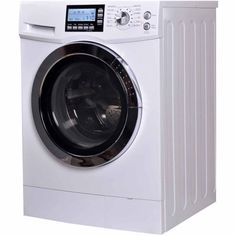 RCA 2.0 cu ft Front Loading Combo, White