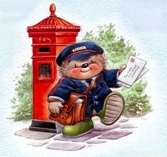 Country Companions: mail carrier