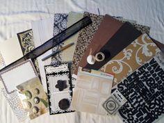 Black Elegance Scrapbooking Kit 17 by ScrapChicKits on Etsy, $19.99   (VINNY PLSSSSS)