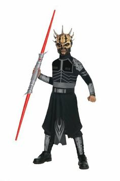 Star Wars Child's Savage Opress Costume Rubie's Costume Co. $11.63. Savage Opress costume from Star Wars. Hand Wash. plastic. Officially licensed costume. Belt and mask included. Rubies brings fun to dress-up with costumes and accessories kids play with all year long. Features tunic and pants with attached boot tops