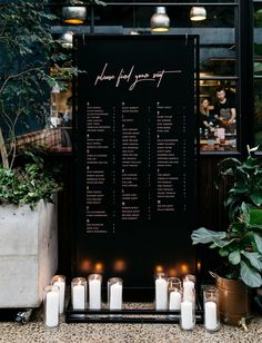black seating chart wedding ideas The Bride Wore Bespoke Blush in this Winter Ceremony - Green Wedding Shoes Luxe Wedding, Wedding Details, Wedding Day, Wedding Blog, Rustic Wedding, Trendy Wedding, Industrial Wedding Decor, Dream Wedding, Wedding Unique