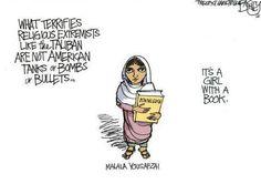What terrifies... #MalalaDay