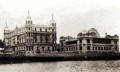 Hotel balneario La Toja en 1908