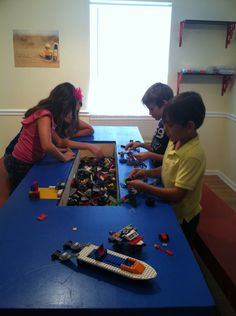 this lego table is awesome!