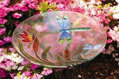 Dragonfly Bird Bath.