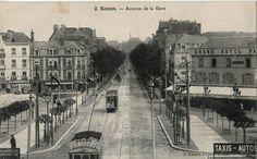 RENNES - Avenue de la Gare - Tramway