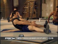 P90X Ab Ripper - I do this every day and literally the first time you do it the day after your abs look visibly tighter. Try it for two weeks and I promise you'll see a difference!