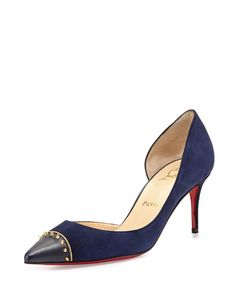 This is a GORGEOUS shoe -- AND the heel is less than 3 inches!  That is what all shoes should be like.