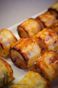 Cannelés aux lardons fumés et à lemmental | Piratage Culinaire