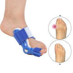 Hallux Valgus Orthotics Big Toe Corrector Foot Pain Relief Feet Guard Care Bone Corrective Bunion Night Day Splint Straightener