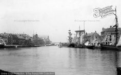 Photo of Weymouth, In The Harbour 1898 from Francis Frith Weymouth Harbour, Weymouth Dorset, Portland Dorset, Old Fisherman, The Donkey, Blackpool, Great Memories, Old Photos, Photo S