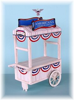 Cart how to's, it could be used for a Christmas set up or farm showing. DYI DOLLHOUSE MINIATURES Z