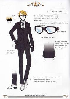 ronald knox black butler | The Ronald Knox Fan Club V2 ☆