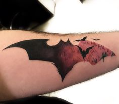 Batman bat tattoo by onur yücel www.tattooturk.com