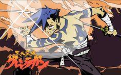Kamina - TTGL Art Anime