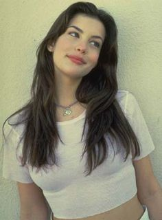 """Liv Tyler was 16 or 17 years old in Aerosmith's video """"Crazy""""…"""