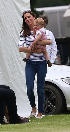 Kate Middleton and Prince George made a surprise appearance at Prince William's polo match - Photo 11 | Celebrity news in hellomagazine.com