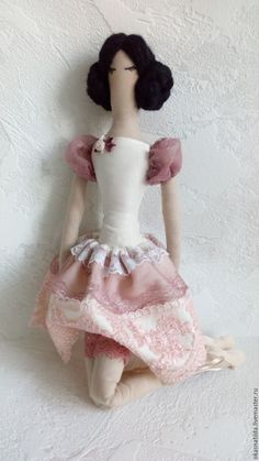 Купить Балерина Жизель - кремовый, балерина, Жизель, кукла, интерьерное украшение, подарок, подарок девушке