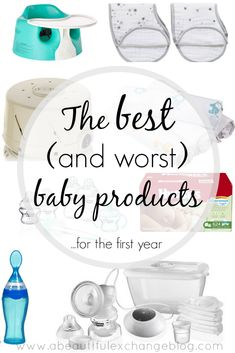 The best and worst baby products for the first year!