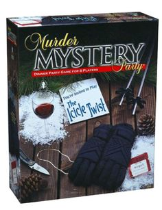Murder Mystery Party - The Icicle Twist University Games http://www.amazon.com/dp/B00005LBFI/ref=cm_sw_r_pi_dp_Uyrtwb14E7E32