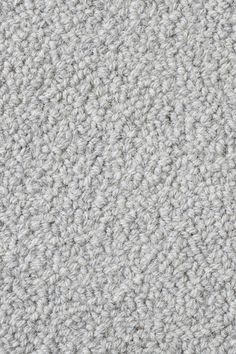 Loop Wool Rug In Heathered Light Grey Colorway By Merida