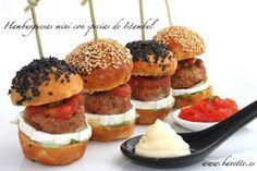 Hamburguesas mini con especias de Estambúl y otras recetas.