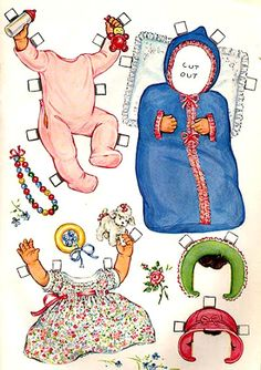 Paper Dolls~BabyDoll - Bonnie Jones - Picasa Web Albums