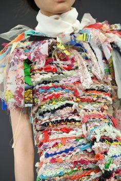 Fabric manipulation and textile design - Viktor & Rolf