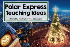 Are you teaching about Polar Express in your classroom or homeschool? This resource has ideas, crafts, activities, and lessons for your Polar Express thematic unit. The book lists, bulletin board photos, pictures of kid projects and printables are great for kindergarten, first grade, second grade, third grade, fourth grade and fifth grade. Planning a Polar Express theme will be easy.