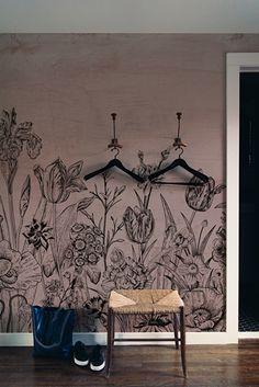 mural TULIPS