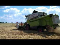 Claas Dominator 106 and Claas Medion 330 - Wheat Harvest 2010