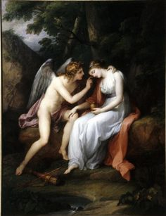 Angelica Kauffmann, Cupid and Psyche, 1792